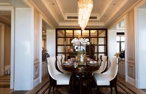 新古典风格餐厅吊顶装修效果图