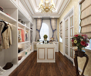 法式风格别墅衣帽间设计图