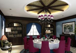 美式餐厅装修图赏析
