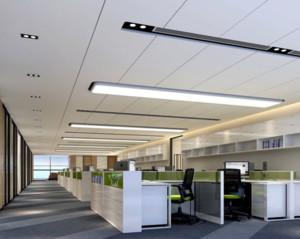 现代简约风格办公室吊顶装修效果图