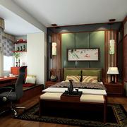 卧室深色装修效果图
