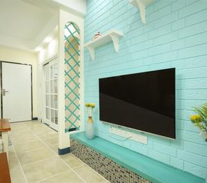 大户型现代简约风格电视背景墙效果图