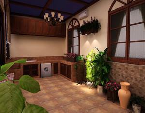 室内进门入户花园设计