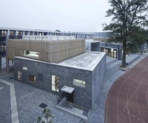 混搭风格小学校园教学楼装修效果图欣赏