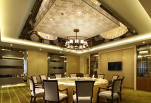 高端奢华餐厅装修效果图赏析