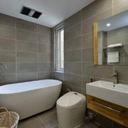 卫生间独立式浴缸设计