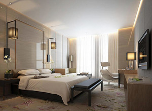现代风格宾馆装修设计效果图