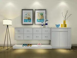 现代风格大户型鞋柜装修效果图