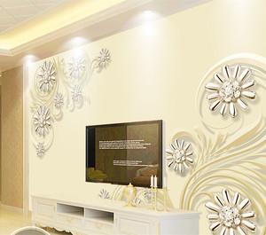 欧式装修风格电视背景墙赏析