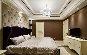 新古典奢华风卧室吊顶装修效果图