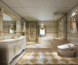 别墅卫生间豪华装修效果图