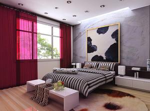 卧室灯安装效果图