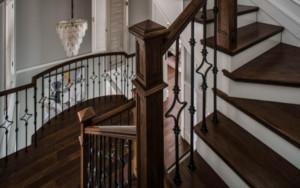 美式风格别墅楼梯装修效果图赏析