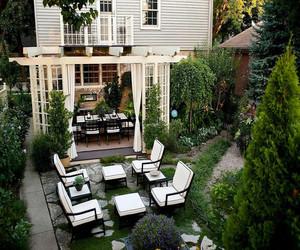 独栋别墅花园设计图