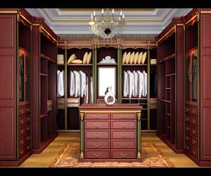 衣帽间整体衣柜设计图