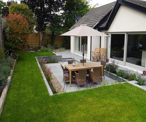 独栋别墅花园装修效果图片