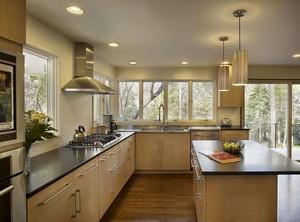 厨房橱柜台面装修效果图
