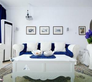 大户型地中海风格客厅装修图