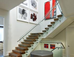 现代风格别墅室内精品楼梯装修效果图