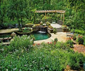 私家花园实景图