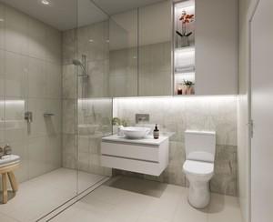 现代风格卫生间瓷砖图片赏析