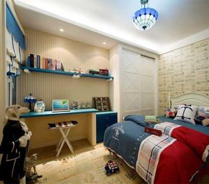 多彩现代简约风格儿童房装修图
