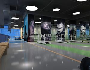 健身房大厅装修效果图