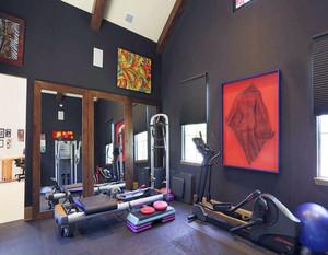 10平米家庭健身房图片