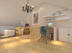 现代阁楼卧室装修效果图