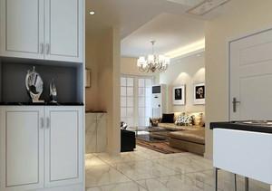 120平米现代风格鞋柜设计图
