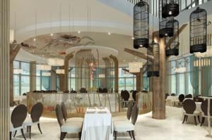 600平米中餐厅装修效果图