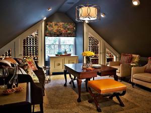 现代阁楼客厅装修效果图