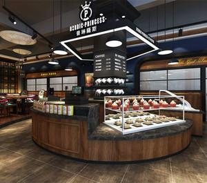 loft风格面包店装修效果图