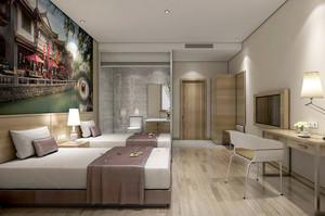 欧式风格宾馆装修效果图