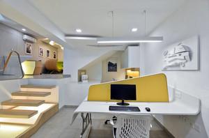 简约风格小型办公室装修设计图
