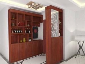 中式风格酒柜装修案列赏析