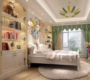 清新风格儿童房装修效果图赏析