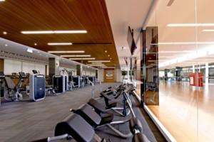 混搭风格健身房装修设计图欣赏