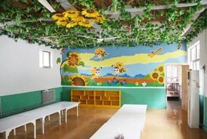 清新风格幼儿园室内装修设计效果图赏析