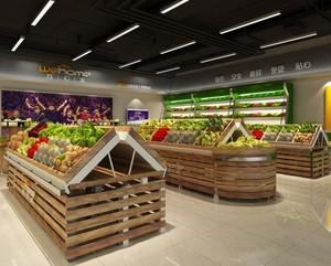 100平米水果店装修效果图