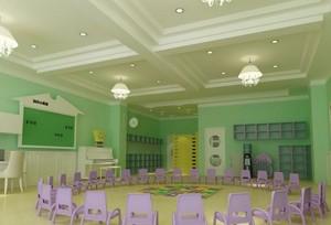 轻快风格幼儿园室内设计