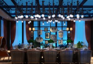 美式风格餐厅装修效果图赏析