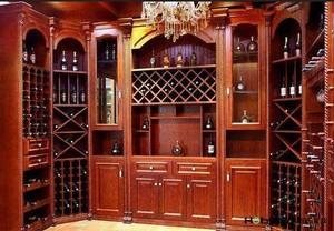 大户型欧式酒柜装修设计效果图