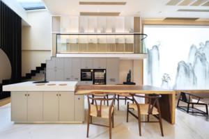 现代风格别墅吧台装修效果图欣赏