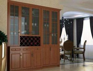 中式酒柜装修设计案例赏析