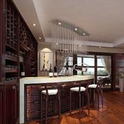 空间其他中式酒柜别墅装修