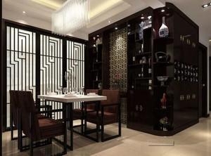 大户型欧式酒柜装修设计案例