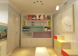 宜家风格酒柜装修设计效果图