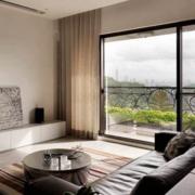 空间其他现代窗帘100平米装修