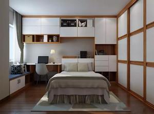 中式风格卧室飘窗装修效果图